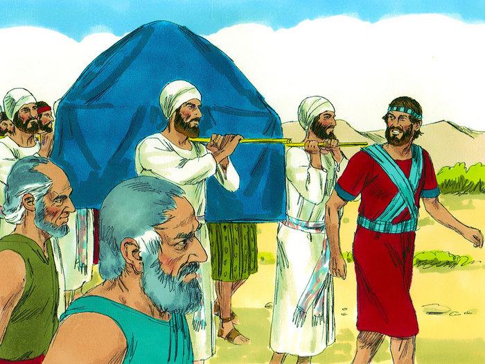 El cruce del río Jordán - Club Perlita