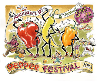8th Annual Pepper Festival in Briar Chapel on September 27th