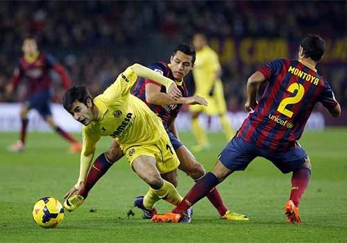 Xem lại đầy đủ trận Barcelona vs Villarreal