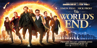 The World's End Banner Poster