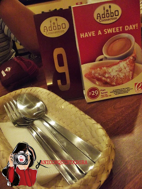Adobo Connection in Robinsons Galleria: Our First Restaurant for 2013