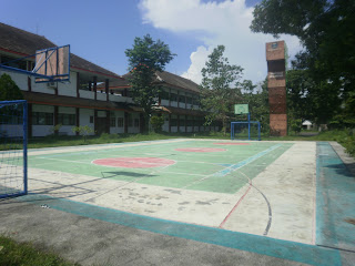 Lapangan Basket Universitas Jember
