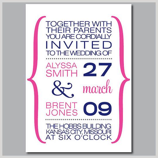 Desain undangan pernikahan terbaru Mei