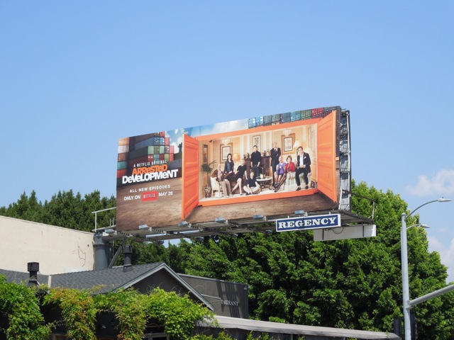 Arrested Development 4 billboard