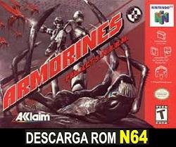 Armorines - Project S.W.A.R.M  64 ROMs Nintendo64