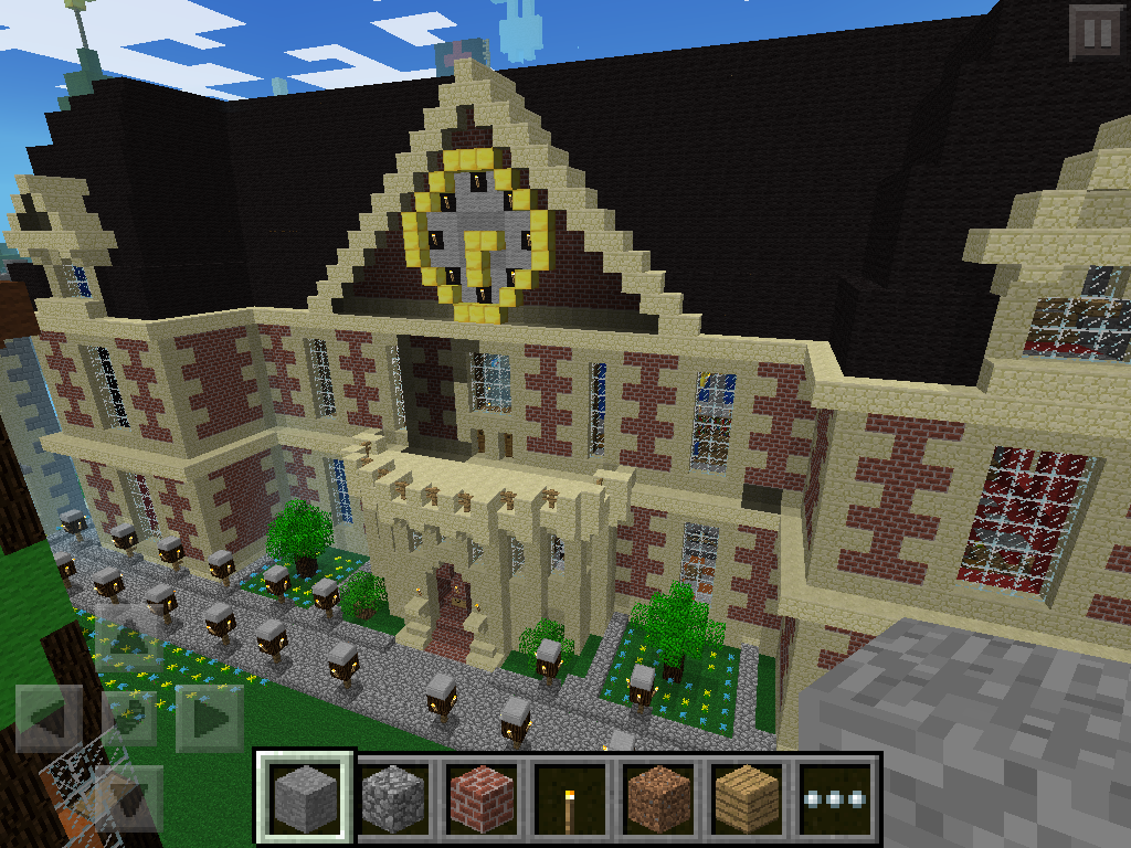 biggest minecraft house in the world 2013