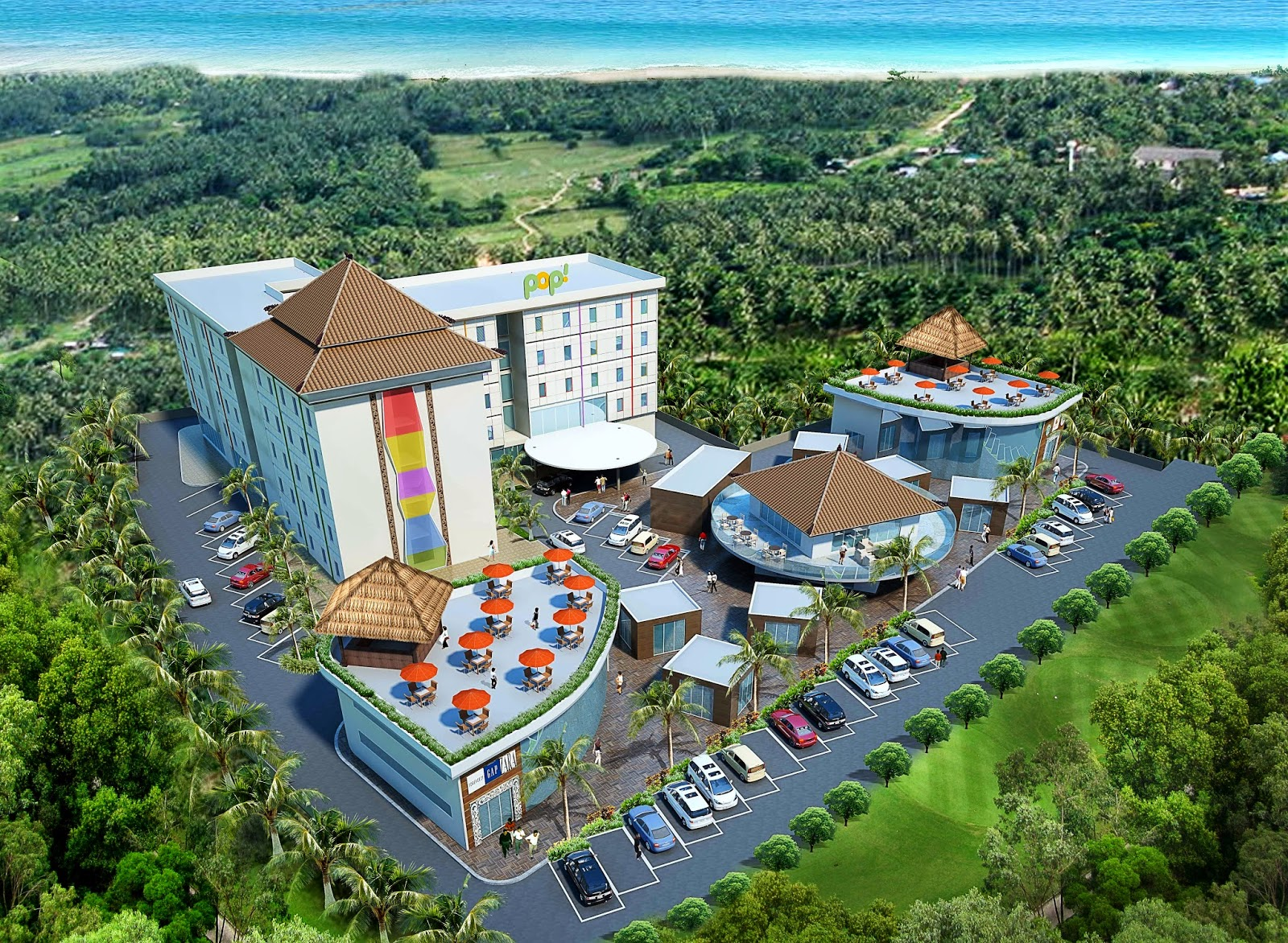 jasa 3d hotel