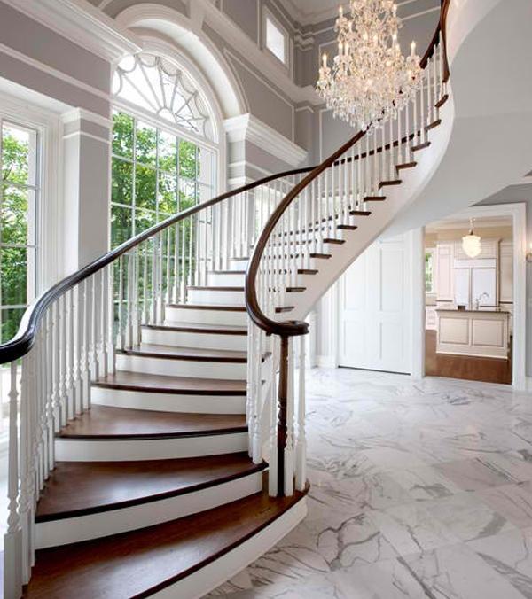 Inspirasi Desain Tangga Rumah Mewah