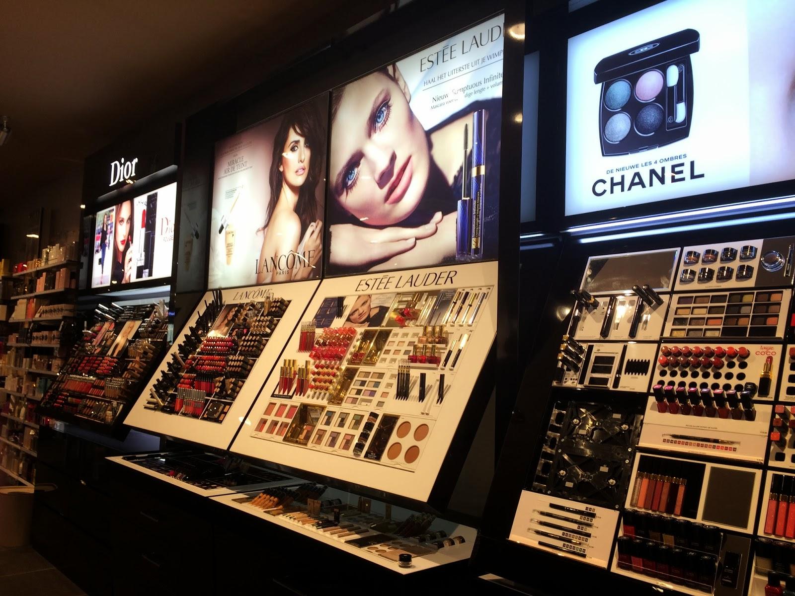 Dior Chanel Estee Lauder Lancome