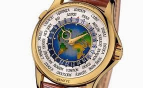Patek Phillipe Platinum World Time