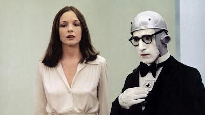 Woody Allen and Diane Keaton in Sleeper