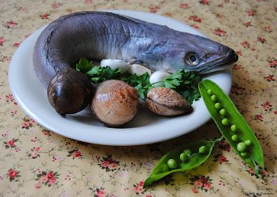 recette espagnole colin palourdes petits pois