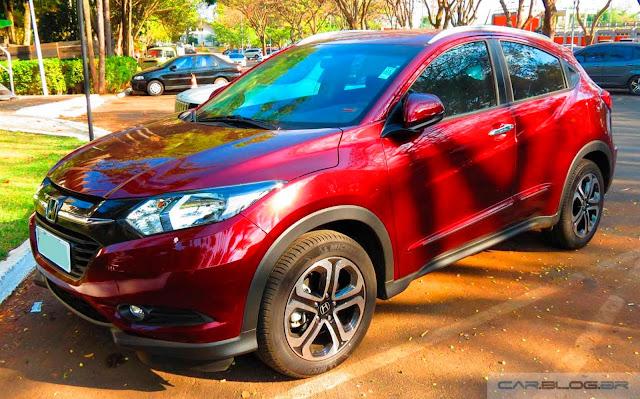 Honda HR-V 2016 - consumo