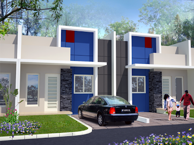 gambar rumah type minimalis on Gambar Desain Interior Minimalis: Gambar Rumah Minimalis 1 Lantai ...