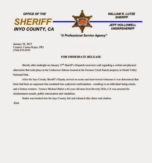 Geezer Butler - documento arresto
