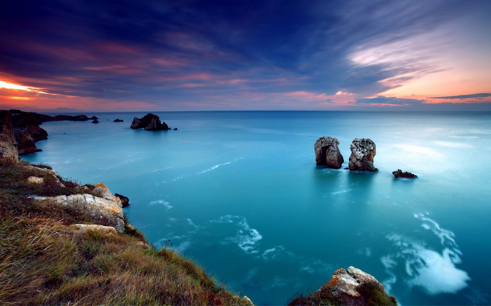 beautiful sea landscape wallpaper - photo #45