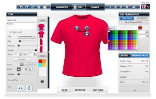 An ultimate solution to render a t shirt design tool for T shirt printing design software