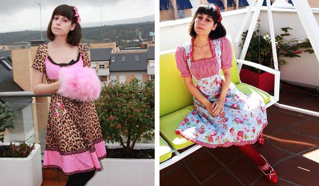 vintage, retro, pink, cute