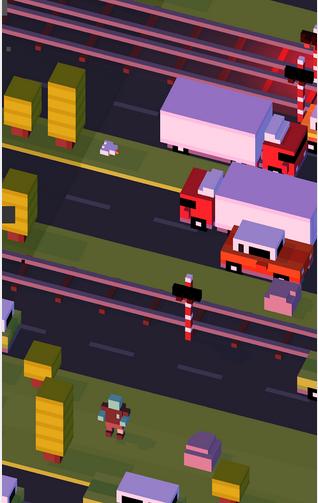 تحميل لعبه Crossy Road من google play