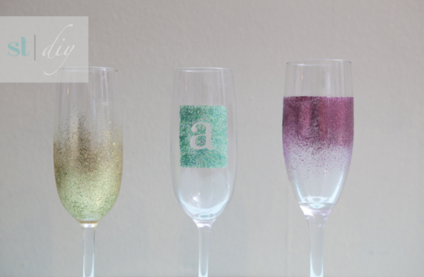 http://somethingturquoise.com/2011/10/21/diy-glam-champagne-glasses/