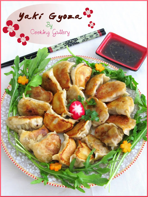 Yaki Gyoza: Japanese-Style Pan-Fried Dumplings | Cooking Gallery