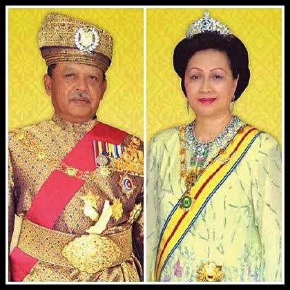 DYMM Raja Perlis dan DYMM Raja Perempuan