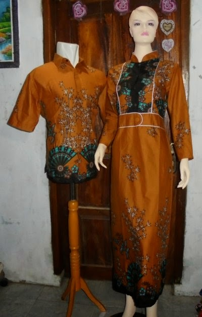 Grosir batik gamis couple