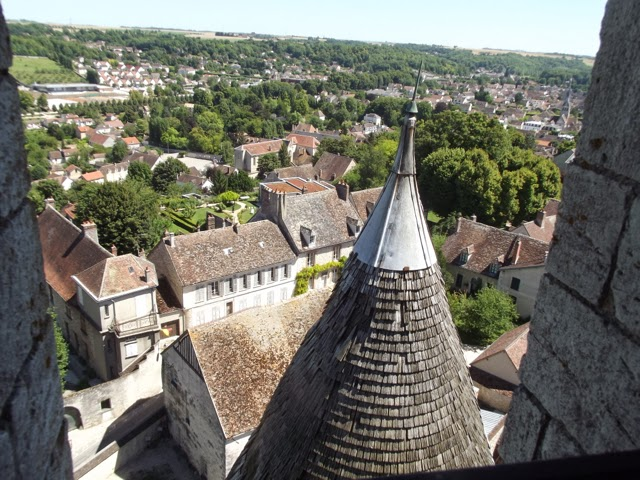 Provins view from Tour de Cesar