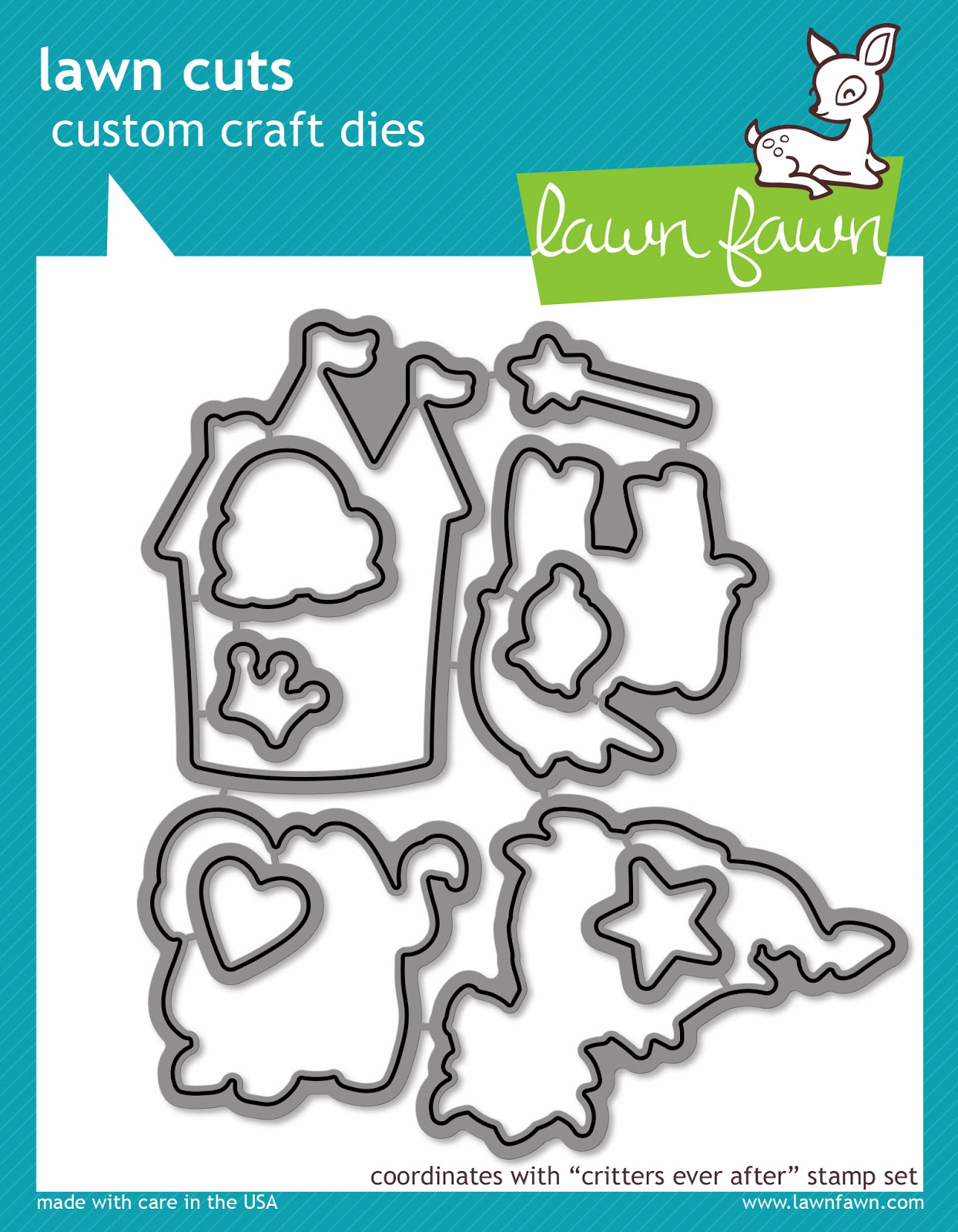 http://www.lawnfawn.com/collections/new-products/products/critters-ever-after-lawn-cuts