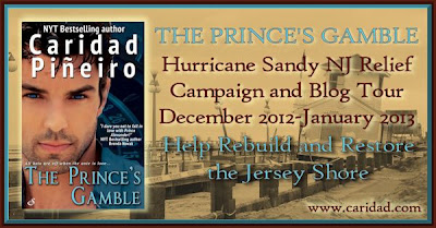 Hurricane Sandy NJ Relief Campaign & Blog Tour for The Prince's Gamble by Caridad Piñeiro