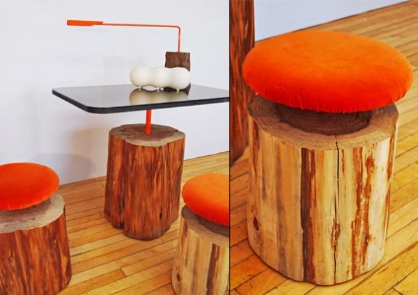 Arte y arquitectura madera reciclada bancos mesas y for Muebles ballesta baza