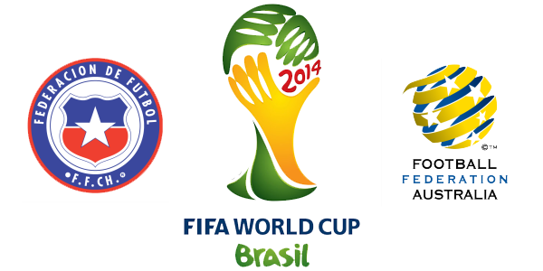 FIFA World Cup 2014 Chile vs Australia HD Photos