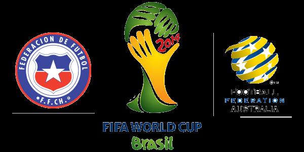 FIFA World Cup 2014 Chile vs Australia HD Photos