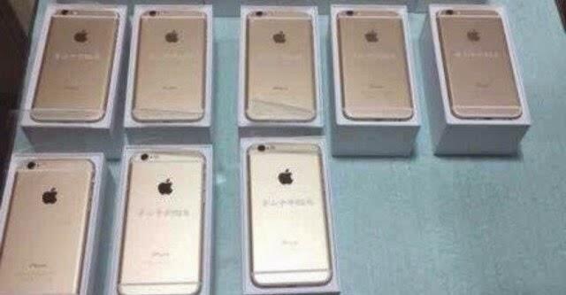 Tỉ phú Trung Quốc tặng iPhone 6 cho toàn bộ bạn học cũ