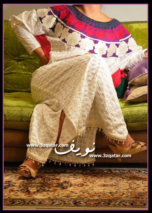 فصالات دراعات كويتية ملونة
