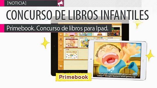 Concurso de libro infantil para Ipad. PRIMEBOOK.