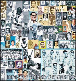 INDIA'N Expired Cricketers Poster