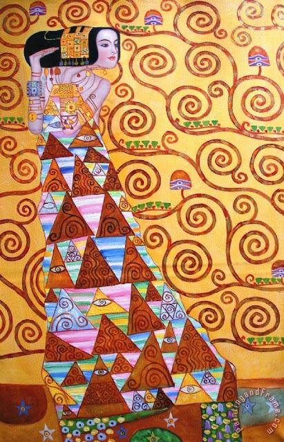 Obras de Gustav Klimt pintor austriaco