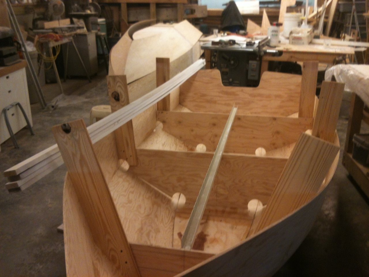 Bolger Diablo Boat : Bolger diablo rickety boat works