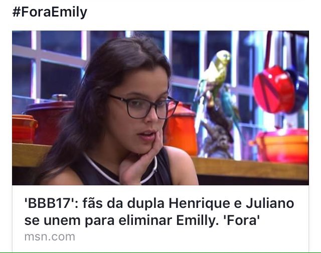 SERTANEJOS CONTRA EMILLY