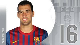 Busquets completó 100 partidos con el Barcelona