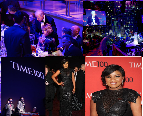 Time Magazine honors Omotola