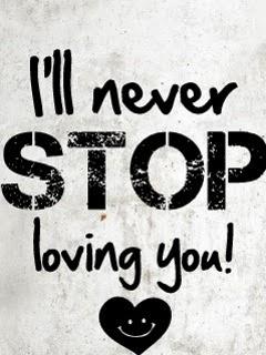 i will never stop loving you mobile wallpaper