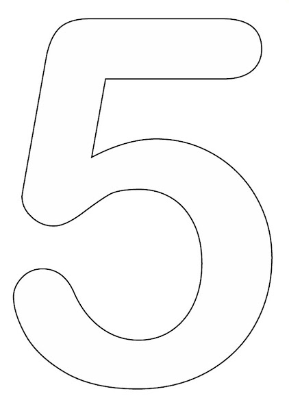 Printable Number Coloring Pages For Preschool