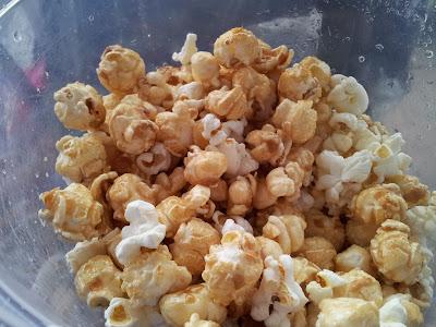 Peppa Pig World, Paultons Park, popcorn