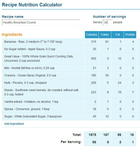 I Used An Online Nutrition Calculator And Estimate Amounts And Ingredients As Best I Could