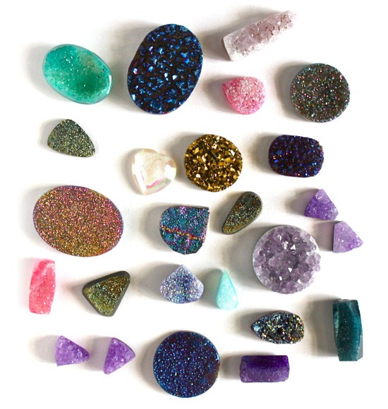 couleurs des mineraux