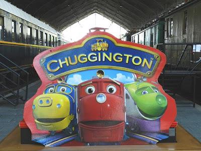"""""""Chuggington"""" en el Museo de Ferrocarril"""
