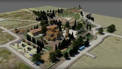 3d απεικόνιση του Αρχαιολογικού Πάρκου Ορχομενού