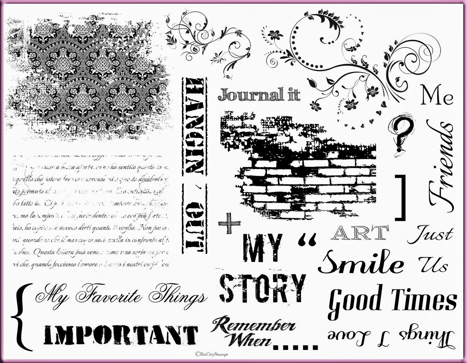 http://www.sincitystamps.com/index.php/art-rubber-stamps-2013-11-27/art-journal-rubber-stamps/art-journaling-with-terri-sproul-2-detail